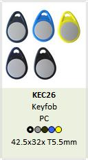 NFC keyfob