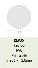 Mifare 1K key fob