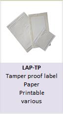 Tamper proof RFID