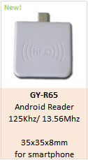 GY-R65 NFC Reader android phone reader