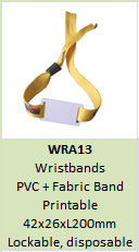 NTAG213 wristbands