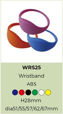 125Khz rfid wristbands
