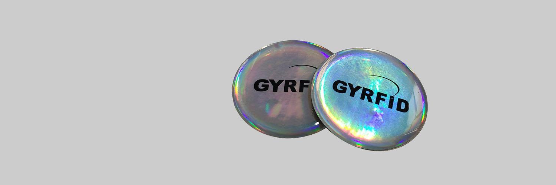 Glitter NFC sticker